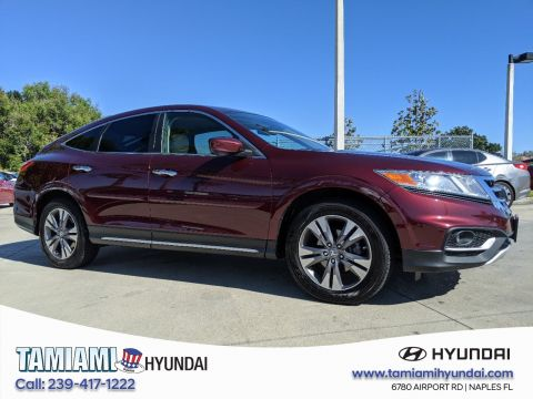 Pre-Owned 2015 Honda Crosstour EX-L 4WD Sport Utility
