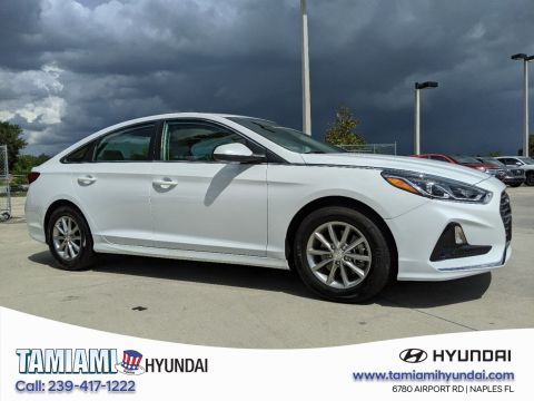 Certified Pre-Owned 2018 Hyundai Sonata SE FWD 4dr Car