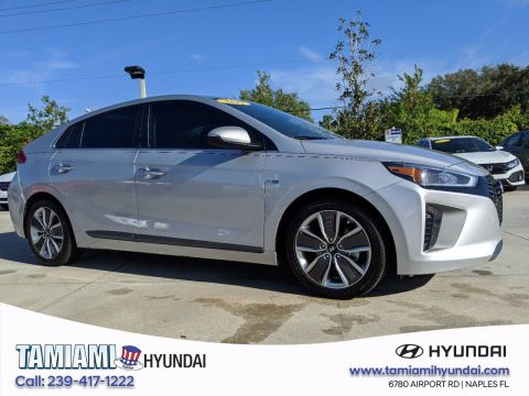 Certified Pre-Owned 2017 Hyundai Ioniq Hybrid Limited FWD Hatchback